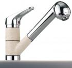 Смеситель с выдвижным душем FRANKE CASCADA 470-1 - 1134