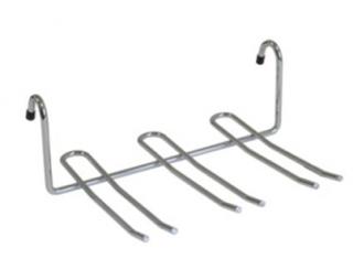Полка для фужеров навесная малая хром Lemax - 1281