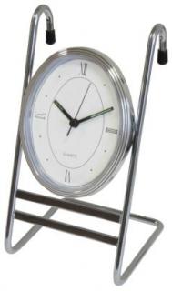 Часы на рейлинги хром Lemax
