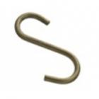 Крючок одинарный на рейлинг реверсный бронза Lemax - 1328