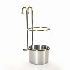 Стакан для столовых приборов бронза Lemax