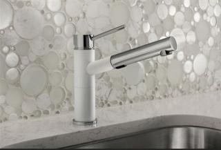 Смеситель для кухни с выдвижным душем BLANCO ALTA-S Compact