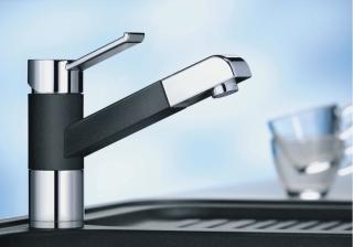 Смеситель для кухни с выдвижным душем BLANCO ZENOS-S - 1415