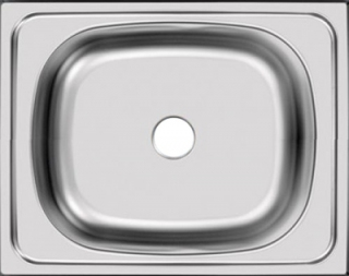 Мойка накладная 40 х 50 см из нержавеющей стали  UKINOX   STD 500.400