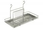 Сушка для посуды матовый хром  - 1665