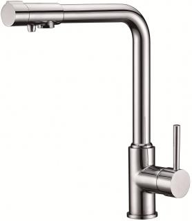 KAISER  Teka  Смеситель с переключением на питьевую воду однорычажный, боковой (Германия)