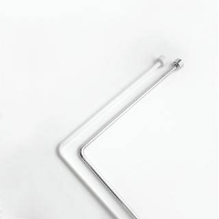 Штанга угловая для ванной комнаты хром Bacchetta - 1761