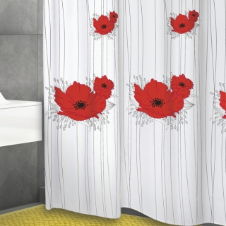 Штора текстильная Bacchetta 180x200 Papavero - 1770