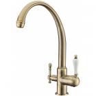 KAISER Vincent 31145-3 Bronze  Смеситель для кухни однорычажный, с переключением на питьевую воду - 1830