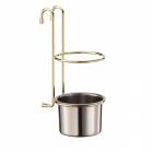 Стакан для столовых приборов золото Lemax - 2034