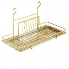 Сушка для посуды золото Lemax - 2043