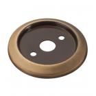Нижнее плоское крепление для барной стойки в цвете античная бронза - 2273