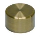 Заглушка декоративная для барной трубы античная бронза - 2285