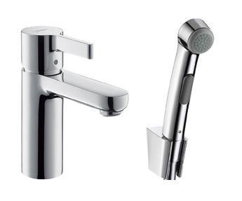 Смеситель с гигиеническим душем Hansgrohe Metris E (Германия) - 1