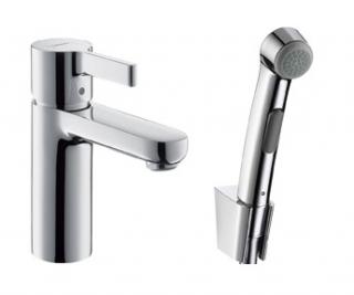 Смеситель с гигиеническим душем Hansgrohe Metris E (Германия) - 249