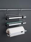Держатель для бумажного полотенца, фольги и пищевой пленки хром глянец Kessebohmer (Германия) - 2579
