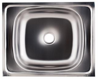Мойка накладная Kromrus S-204 40х50 из нержавеющей стали - 2739