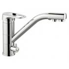Смеситель для кухни с переключением на питьевую воду, однорычажный Frap 4304 - 2818