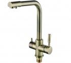 Смеситель для кухни с переключением на питьевую воду, однорычажный Frap 4352 - 2823