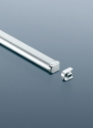 Рейлинг для кухни 90 см модерн (алюминий и хром глянец) Linero 2000 Kessebohmer - 2937