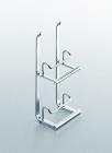 Держатель для крышек на рейлинги модерн хром глянец Linero 2000 Kessebohmer - 2945
