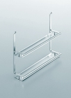 Полка двойная для специй на рейлинги модерн хром глянец Linero 2000 Kessebohmer - 2950