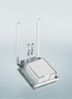 Держатель для блокнота на рейлинги модерн хром глянец Linero 2000 Kessebohmer - 2951