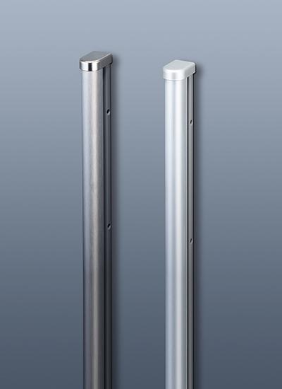 Рейлинг для кухни 120 см модерн (алюминий и хром матовый) Linero 2000 Kessebohmer - 2