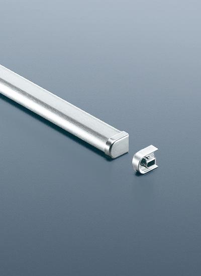 Рейлинг для кухни 150 см модерн (алюминий и хром матовый) Linero 2000 Kessebohmer - 5