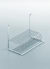 Сушка для посуды на рейлинги модерн хром матовый Linero 2000 Kessebohmer - 2968