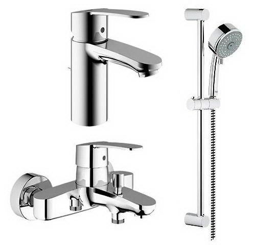 Комплект смесителей на ванну Grohe Eurostyle 116941 - 1