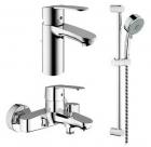 Комплект смесителей на ванну Grohe Eurostyle 116941 - 2993