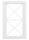 Фасад под стекло с обрешеткой ПОРТОФИНО белый, лаванда, олива, капучино  MOBILCLAN (Италия) - 3047