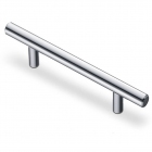 Ручка рейлинг 256 х 12 мм, отделка хром - 3082