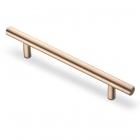 Ручка рейлинг 256 х 12 мм, отделка бронза - 3084