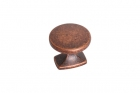 Ручка кнопка, отделка медь античная Mobilclan (Италия) - 3126