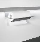 Держатель для бумажных полотенец на рейлинги модерн серый титан Mosaiq. Kessebohmer (Германия) - 3186