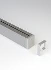 Рейлинг для кухни 90 см модерн нерж. для серии Mosaiq черный графит. Kessebohmer (Германия) - 3209