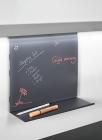 Мемодоска подвесная на рейлинги модерн черный графит Mosaiq. Kessebohmer (Германия) - 3228