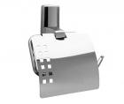 Держатель туалетной бумаги с крышкой  Leine К-5000 Wasserkraft - 3322