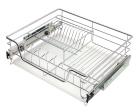 Сушка для посуды выкатная в нижний шкаф шириной 45 см  - 3411