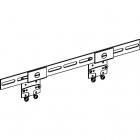 Кронштейн REHAU, тип D в сборе (11055341008) - 3596
