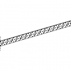 Монтажная шина REHAU, 2 м (11056231008) - 3597