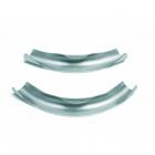 Фиксатор поворота трубы REHAU 45°, без колец (оцинкованная сталь) - 3599