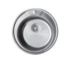 Круглая мойка Frap 490   (49х18см) - 429