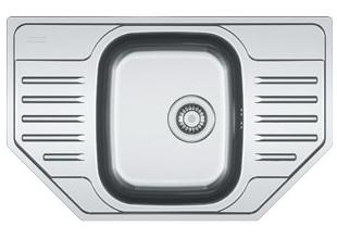Мойка Franke POLAR PXN 612-Е, ширина 45 см. (Германия) - 708