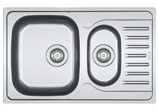 Мойка Franke POLAR PXN 651-78, ширина 60 см. (Германия) - 711