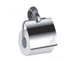 Держатель туалетной бумаги FRAP 1503,  с крышкой - 955