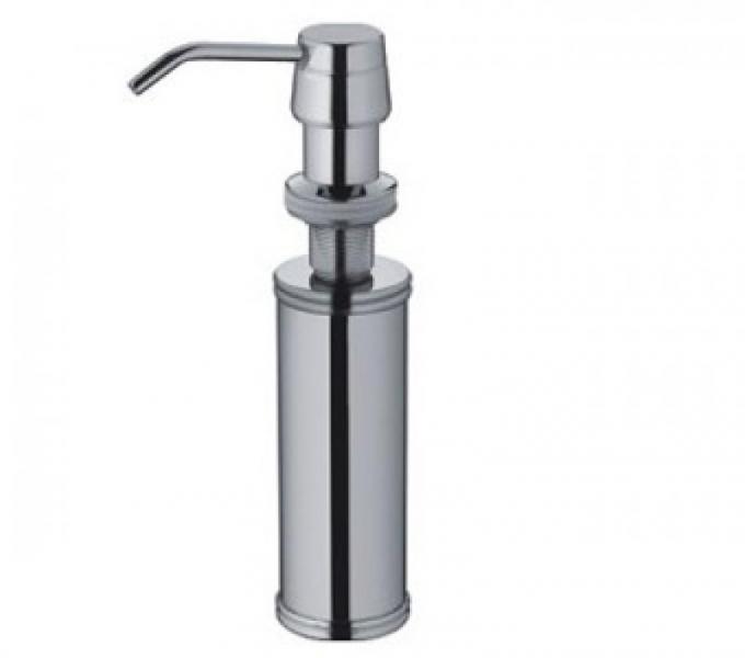 Встраемый дозатор для жидкого мыла FRAP 405,   металлический, для кухонной мойки, 200 мл - 1