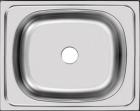 Мойка накладная 40 х 50 см из нержавеющей стали  UKINOX   STD 500.400 - 1601